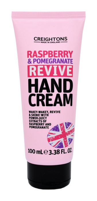Creightons Raspberry & Pomegranate Revive Hand Cream 100ml - Franklins