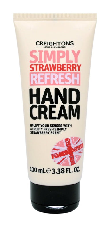Creightons Simply Strawberry Refresh Hand cream 100ml - Franklins