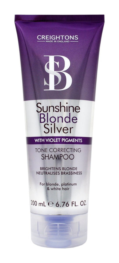 Creightons Sunshine Blonde Silver Tone Correcting Shampoo 200ml - Franklins