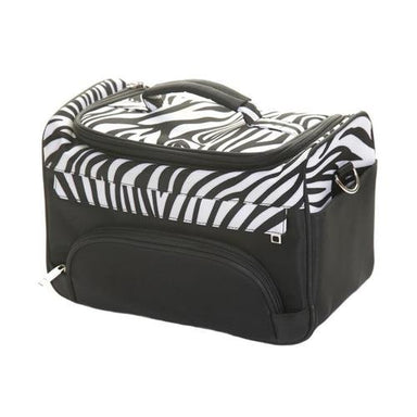 Crewe Orlando Zebra Hairdressing/ Beauty Kit Bag - Franklins