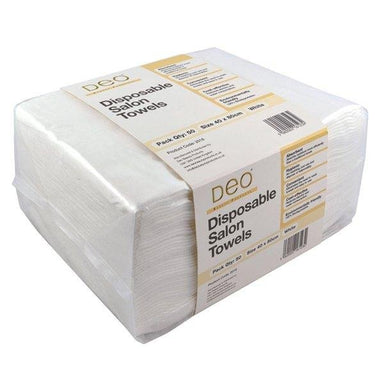 Deo Disposable Salon Towels White (50) - Franklins