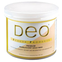 Deo Pearlised Gold Wax 425g - Franklins