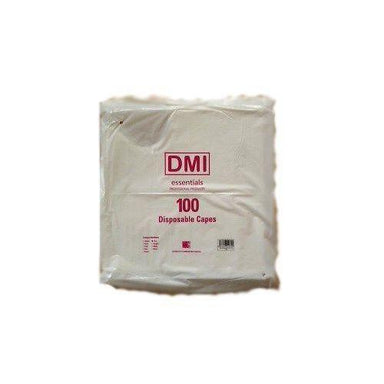 DMI Disposable Shoulder Polythene Capes 100 Pack - Franklins