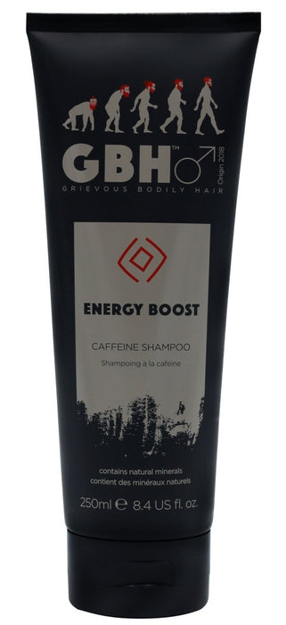 GBH Energy Boost Caffeine Thickening Shampoo 250ml - Franklins