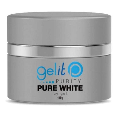 Gelit Purity Pure White Uv Gel 15g - Franklins