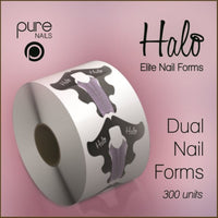 Halo Elite Dual Nail Forms 300 pk - Franklins