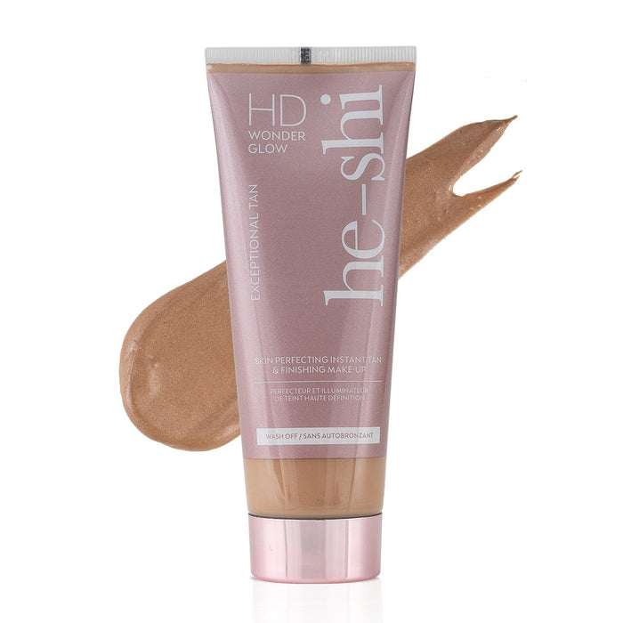 He -Shi HD Wonder Glow Instant Tan & Makeup 100ml - Franklins