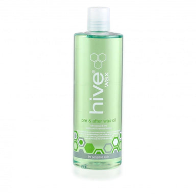 Hive Pre & After Wax Oil With Coconut & Lime 400ml - Franklins
