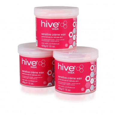 Hive Sensitive Creme Wax 425g 3 for 2 Pack - Franklins