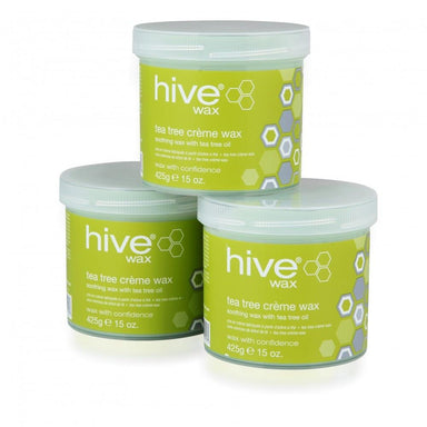 Hive Tea Tree Creme Wax 425g 3 for 2 Pack - Franklins