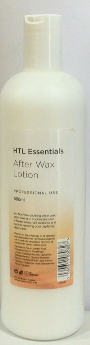 HTL Essentials After Wax Lotion 500ml - Franklins