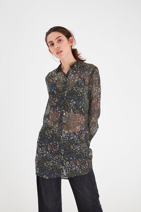 Ichi Long Sleeve Autumn Blouse - Franklins