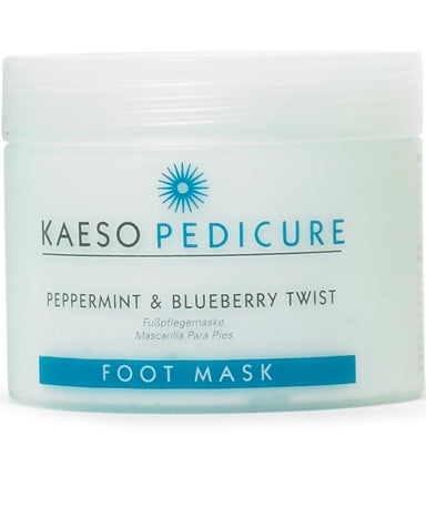 Kaeso Pedicure Peppermint & Blueberry Twist Foot Mask - Franklins