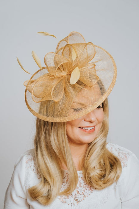 Mustard Fascinator - Franklins