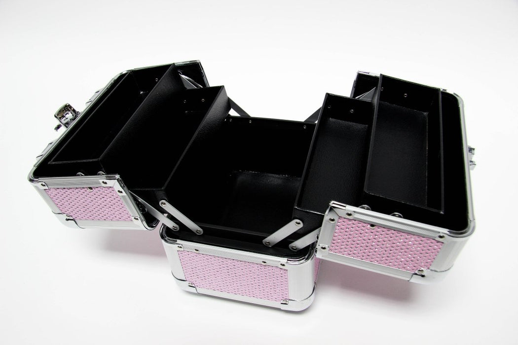 Pink Glitter Beauty Cosmetics Case - Franklins