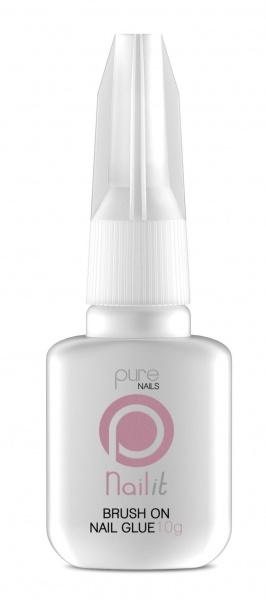 Pure Nails Brush On Nail Glue 10g - Franklins