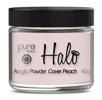 Pure Nails Halo Acrylic Powder Cover Peach - Franklins