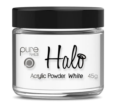 Pure Nails Halo Acrylic Powder White - Franklins