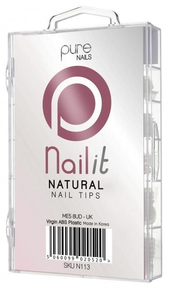 Pure Nails Pure Natural Nail Tips Refill Pack 50S - Franklins