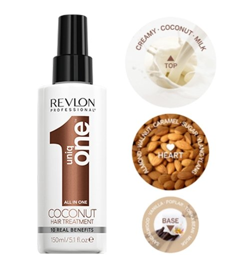 Revlon uniq One Coconut Leave In Conditioning Treatment Spray 150ml - Franklins