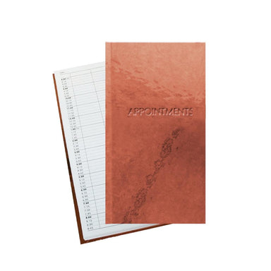 Rose Gold 3 Column Appointment Book - Franklins