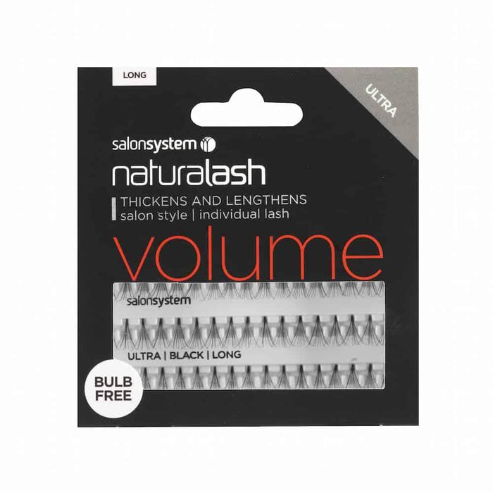 Salon System Flare Black BULB FREE ULTRA Volume Individual Lashes - Franklins