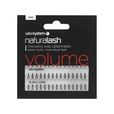 Salon System Flare Black Volume Individual Lashes - Franklins