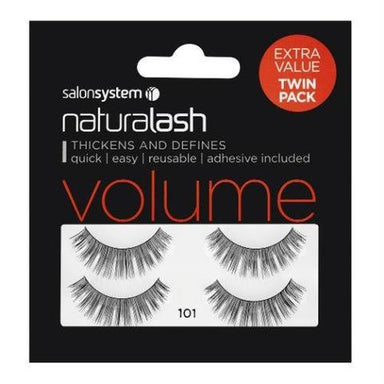 Salon Systems Naturalash Twin Pack Strip Eyelashes 101 - Franklins