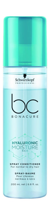 Schwarzkopf BC Hyaluronic Moisture Kick Spray Conditioner 200ml - Franklins