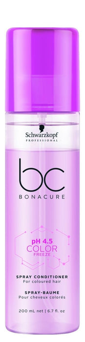 Schwarzkopf BC PH 4.5 Color Freeze Micellar Spray Conditioner 200ml - Franklins