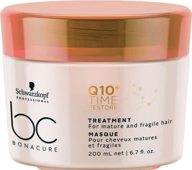 Schwarzkopf BC Q10 Time Restore Treatment 200ml - Franklins