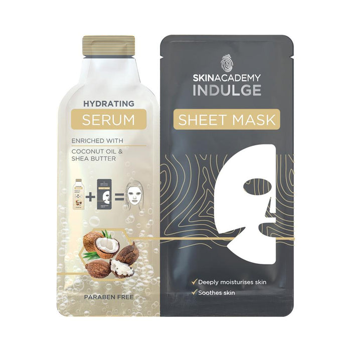 Skin Academy Indulge Sheet Mask With Hydrating Serum - Franklins