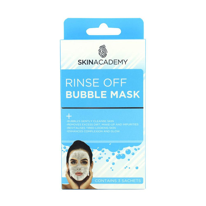 Skin Academy Rinse off Bubble Face Mask - Franklins