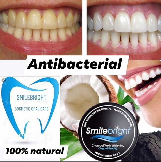 Smile Bright Charcoal Teeth Whitening Powder - Franklins
