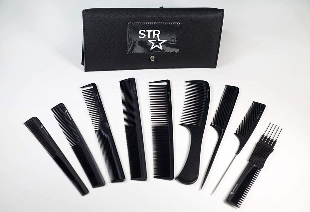 STR 9 Piece Comb Set & Pouch - Franklins