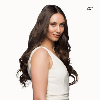 "Stranded 20"" Heat Resistant Curly Clip In Hair Extensions - Franklins"