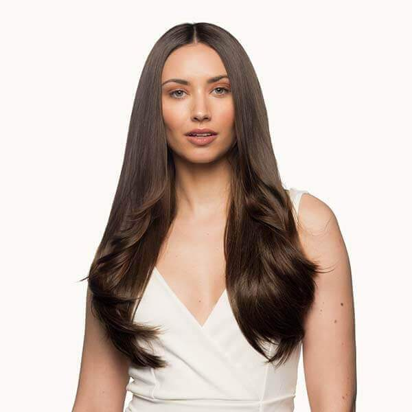"Stranded 20"" Heat Resistant Flicky Clip In Hair Extension - Franklins"