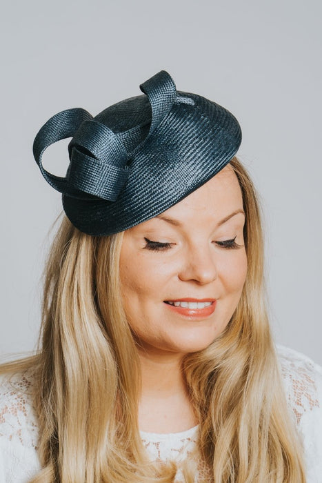 Teal Woven Fascinator - Franklins