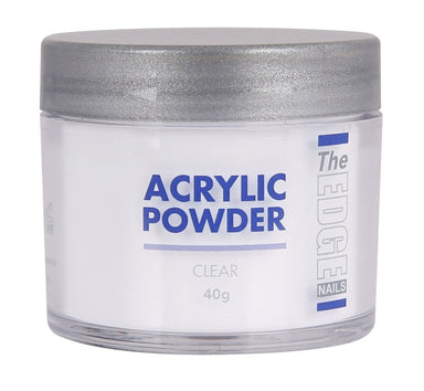 The Edge Nails Acrylic Powder Clear 40g - Franklins