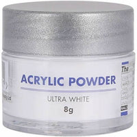 The Edge Nails Acrylic Powder Ultra White - Franklins