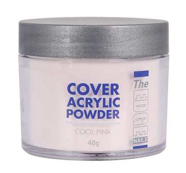 The Edge Nails Cover Acrylic Powder Cool Pink 40g - Franklins