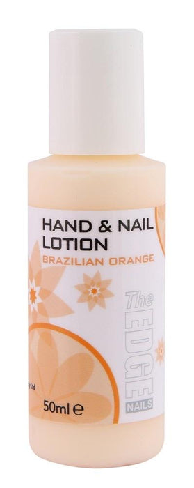 The Edge Nails Hand & Nail Lotion Brazilian Orange - Franklins