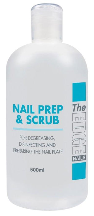 The Edge Nails Nail Prep & Scrub 500ml - Franklins
