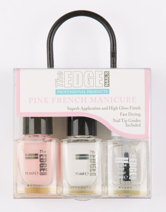 The Edge Nails Pink French Manicure - Franklins