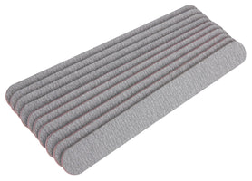 The Edge Nails Zebra 100/180 Grit Cushioned File 10 Pack - Franklins