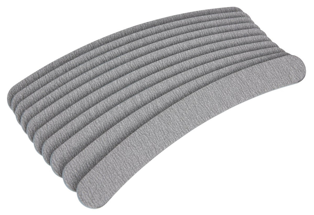 The Edge Nails Zebra Curved 100/180 Cushioned Files 10 Pack - Franklins