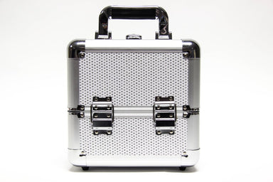 White Glitter Beauty Cosmetics Case - Franklins