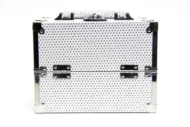 White Glitter Cosmetic Beauty Case - Franklins