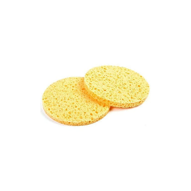 Yellow Cellulose Sponge 10cm 2PK - Franklins