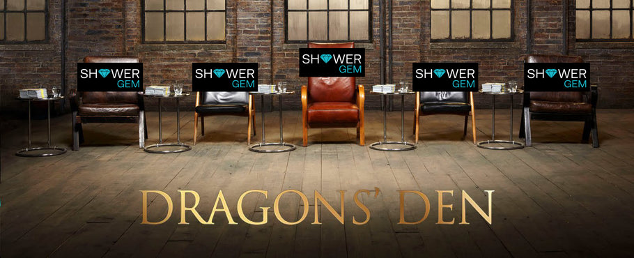 The Shower Organiser on the BBC Dragons' Den with Sara Davies